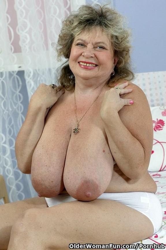 Granny monster tits